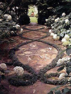 Punica Landscape - Hard surfaces. Garden path design