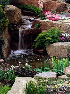 Punica Landscape - Water features